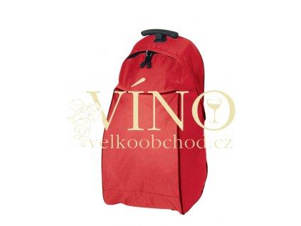 JOURNEY taška na kolečkách, červená