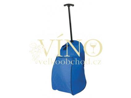JOURNEY taška na kolečkách, modrá