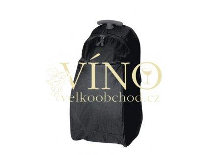JOURNEY taška na kolečkách, černá