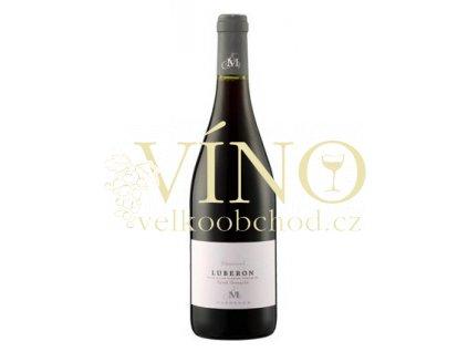 Marrenon Luberon rouge - Classic 0,75 L červené francouzské suché víno