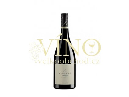 Foncalieu Merlot Le Versant IGP 0,75 l suché francouzské červené víno z Languedoc Roussillon 2016