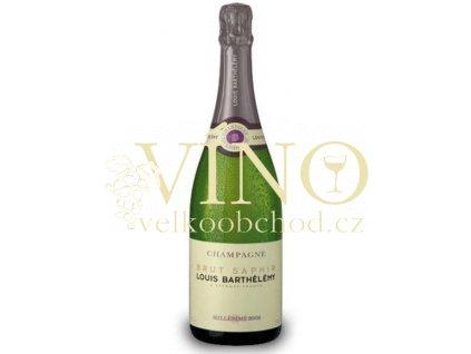 Champagne Louis Barthélémy Brut Saphir 2008 0,75 l francouzské šampaňské