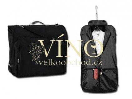 Omar bag cestovní vak na šaty, černá
