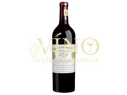 Château Cheval Blanc ler Grand Cru Classé A 0,75 L suché francouzské červené víno z Bordeaux Saint-Émilion