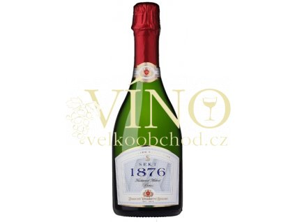 Zámecké vinařství Bzenec Sekt 1876 brut 0,75 l šumivé bílé víno