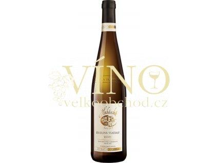 Habánské sklepy Ryzlink vlašský jakostní 0,75 l suché bílé víno