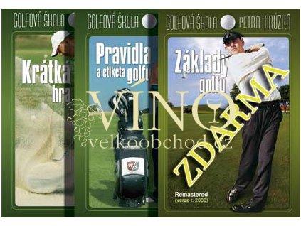 Krátká hra + Pravidla a etiketa golfu + Základy golfu - ZDARMA  - Golfová škola Petra Mrůzka