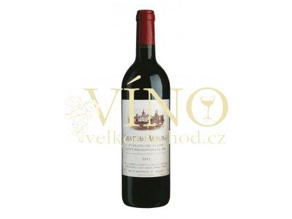 Château Ausone ler Grand Cru Classé A 0,75 l suché 2002 francouzské červené víno z Bordeaux Saint-Émilion