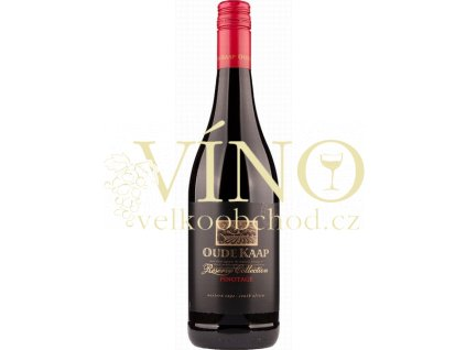 Oude Kaap - Pinotage reserve 0,75 l jihoafrické červené suché víno