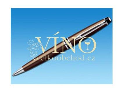 EXPERT kuličkové pero Waterman, hnědá