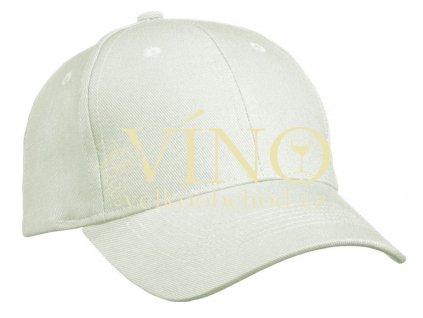6 PANEL CAP HEAVY COTTON UNBRUSHED MB091 čepice s kšiltem, béžová