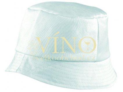 BOB HAT MB006 klobouk, bílá