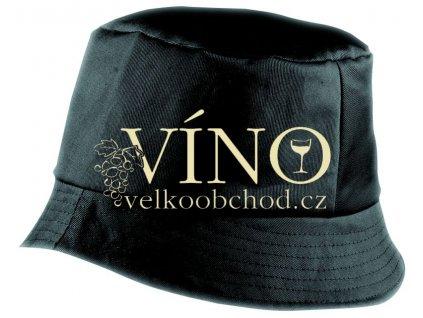BOB HAT MB006 klobouk, černá