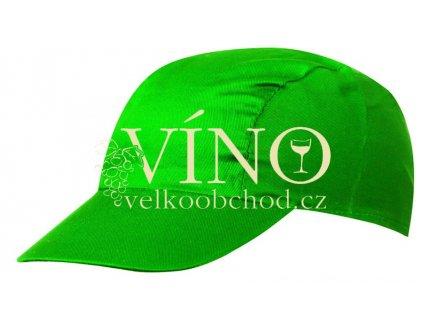 3 PANEL PROMO CAP MB003 čepice s kšiltem, zelená