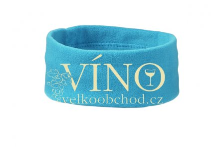 MICROFLEESE HEADBAND MB7710 zimní čelenka do vlasů, aqua modrá