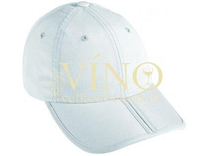 PACK-A-CAP MB6155 čepice s kšiltem, bílá