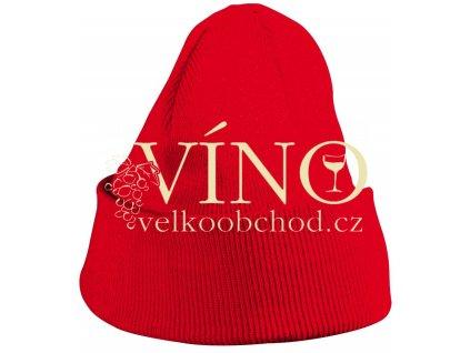 KNITTED CAP FOR KIDS MB7501 dětská zimní čepice, červená
