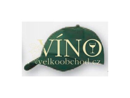 5 PANEL PROMO CAP LIGHTLY LAMINATED MB001 čepice s kšiltem, tmavě zelená