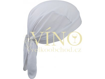 FUNCTIONAL BANDANA HAT MB6530 šátek, bílá