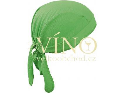 FUNCTIONAL BANDANA HAT MB6530 šátek, citrusová zelená