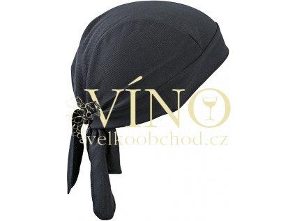 FUNCTIONAL BANDANA HAT MB6530 šátek, černá