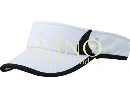 RUNNING SUNVISOR MB6545 kšilt, bílá/černá