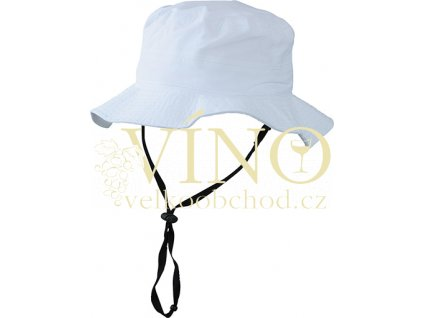 WATERPROOF HAT MB4547 nepromokavý klobouk, bílá, L/XL