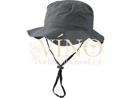 WATERPROOF HAT MB4547 nepromokavý klobouk, antracitová, L/XL