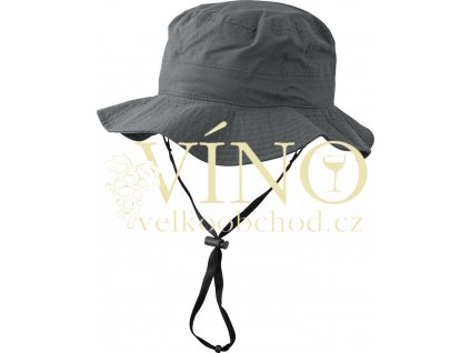 WATERPROOF HAT MB4547 nepromokavý klobouk, antracitová, S/M