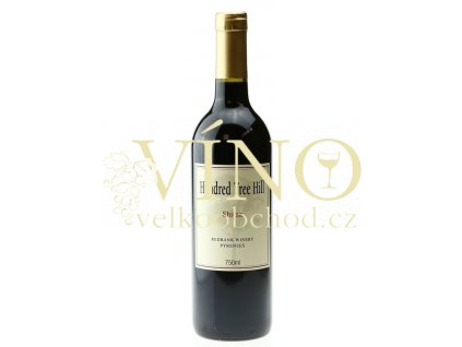 Redbank Winery Hundred Tree Hill Shiraz 0,75 l suché australské červené víno z Pyrenees