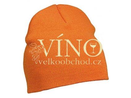 BEANIE No.1 MB7580 zimní čepice, oranžová