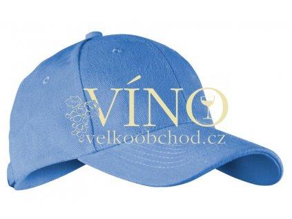 ALEX FOX CHILD 6 PANEL CAP dětská kšiltovka, azurová modrá