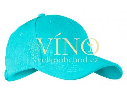 ALEX FOX CHILD 6 PANEL CAP dětská kšiltovka, atol modrá
