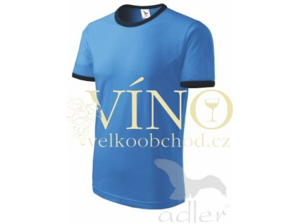 Adler 131 Infinity 180, dětské triko s krátkým rukávem, azurově modrá