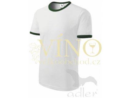 Adler 131 Infinity 180, pánské triko s krátkým rukávem, bílá