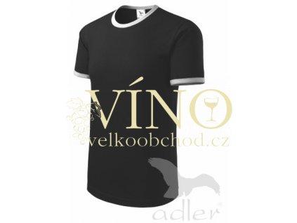 Adler 131 Infinity 180, dětské triko s krátkým rukávem, černá