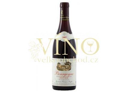 Víno Pinot Noir 2017 0,75 l červené Francois Buffet Bourgogne Francie