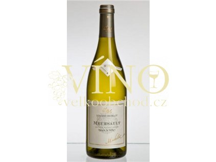 Víno Meursault Sous la Velle 2009 0.75 L bílé Michelot Bourgogne Francie