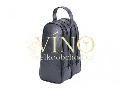 TWO SIDE SHOE BAG černý dvoustranný bag na boty z umělé kůže