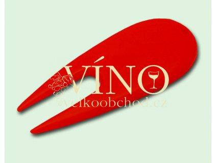 DIVOT TOOL plastikové vypichovátko červené