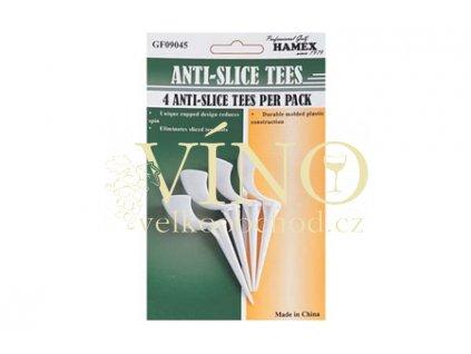 ANTI SLICE TEES  anti-slice tee (baleno á 3ks)