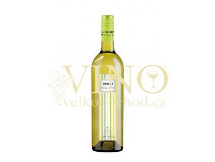 Foncalieu Griset Blanc Sauvignon Gris IGP 0,75 l suché francouzské bílé víno z Languedoc Roussillon