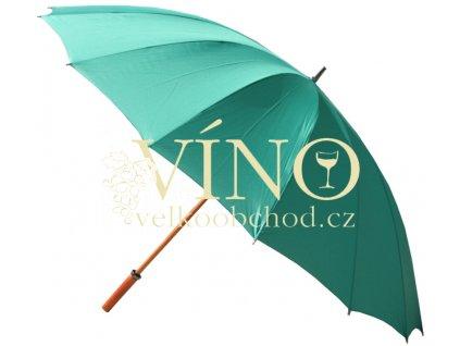 GP-11 WOODY golfový deštník zelený