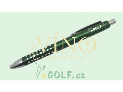 aGOLF kuličkové pero s modrou náplní