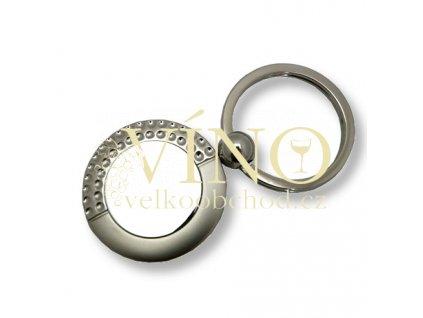 GOLFKEY klíčenka s golfovým motivem, stříbrná