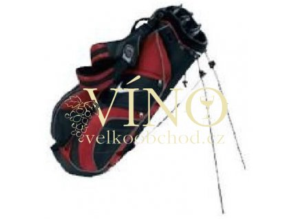 NIKE bag stand Super Series II černo/červený