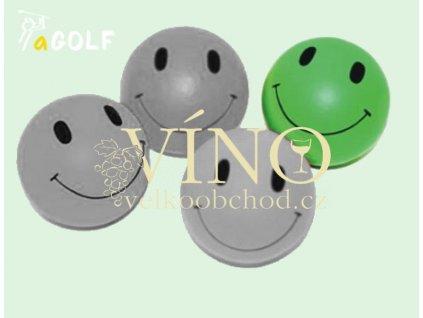 """kolekce """"SMILEY"""" gumový míček, zelený"""
