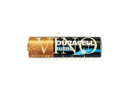 DURACELL TURBO baterie alkalická monočlánek AA / LR6 / MN 1500