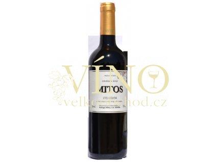 Akce ihned Mitos Tinto Crianza 2012 suché španělské červené víno