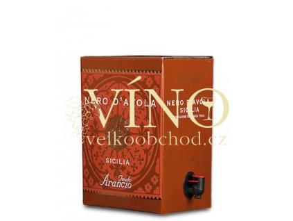 Akce ihned Feudo Arancio Nero d´Avola BIB 5 l italské červené víno z oblasti Sicilia bag in box